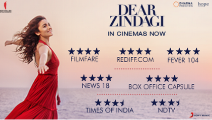 Dear Zindagi Ratings and Review