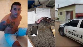 Acusado de matar e queimar corpo de adolescente no distrito de Serra dos Brandões foi preso no RN