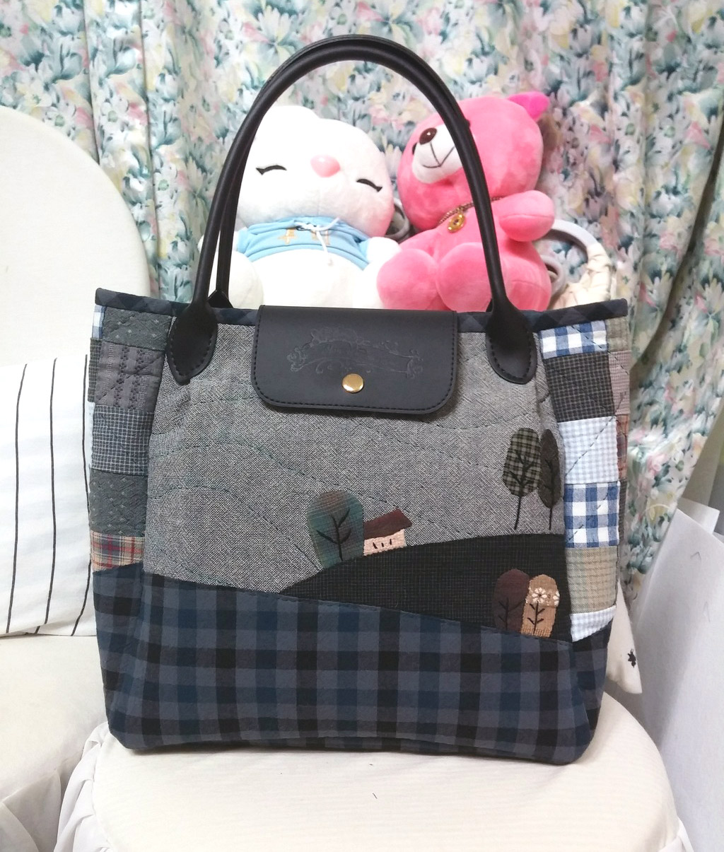 Step by Step Patchwork Bag