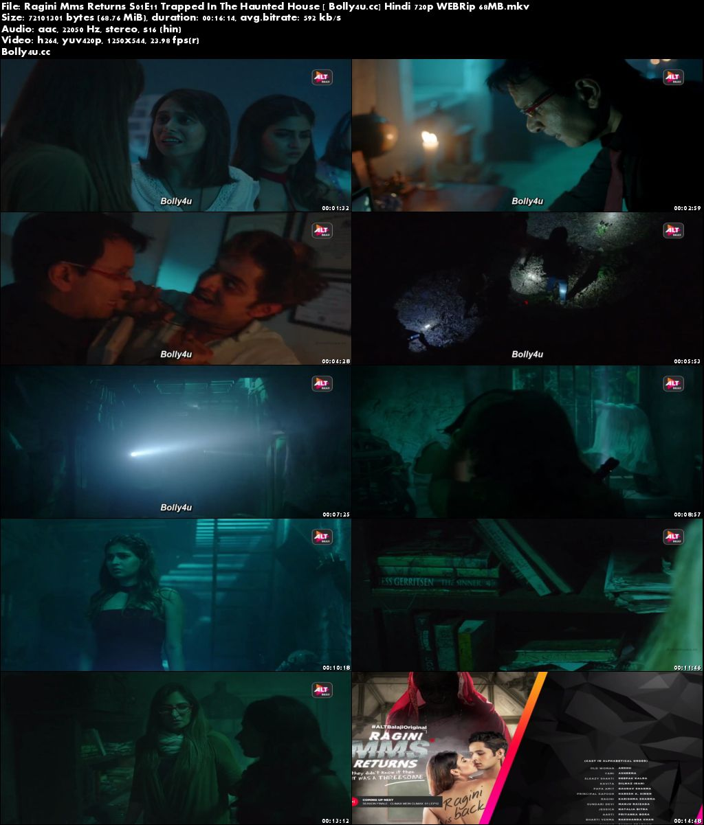 Ragini MMS Returns S01E11 Trapped In The Haunted House WEBRip 65MB Hindi 720p Download
