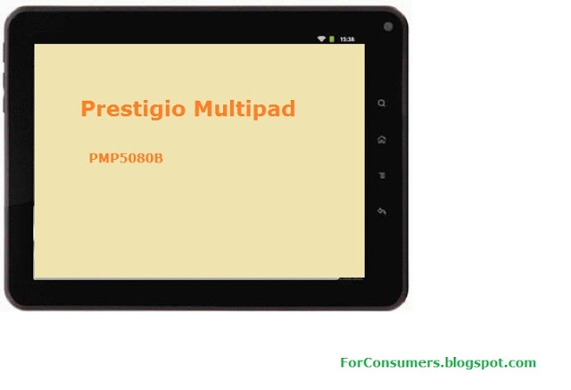 Prestigio Multipad 8-inch Android tablet