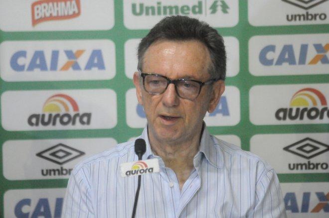 Presidente da Chapecoense teve agenda cheia no Catar (Foto: Chapecoense/Divulgação)