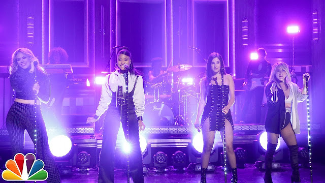 "Fifth Harmony Perform ""Down"" ft. Gucci Mane On Tonight Show"