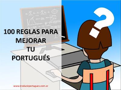 dudas portugués, consejos, reglas, mejorar, portugués