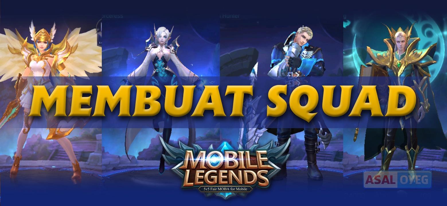 Gambar Membuat Squad Mobile Legends Gambar Legend Di Rebanas Rebanas