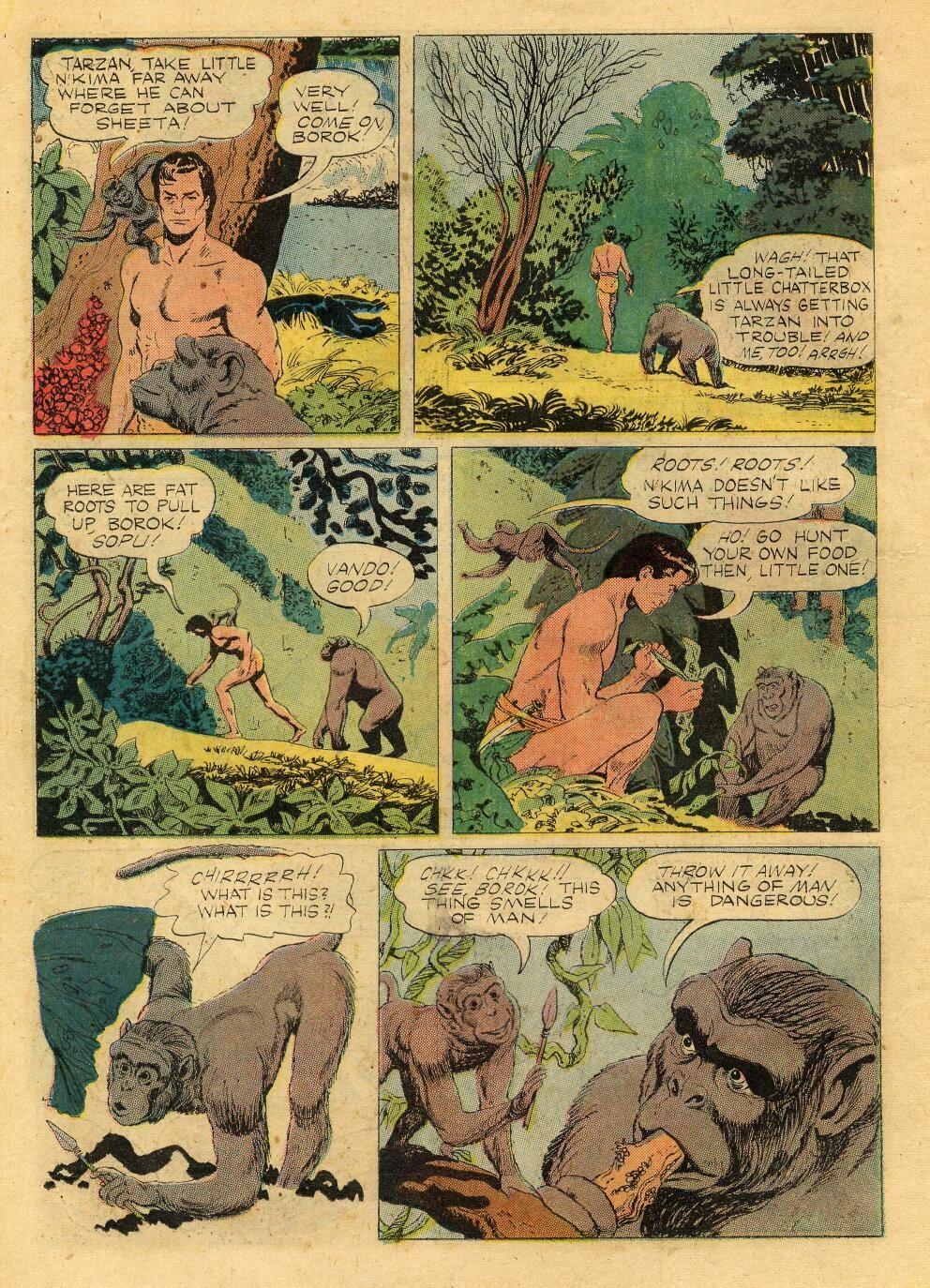 Tarzan (1948) issue 76 - Page 22