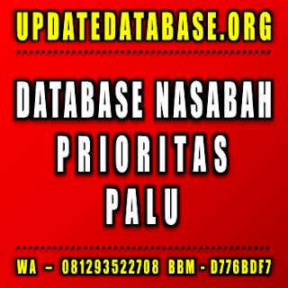 Jual Database Nasabah Palu