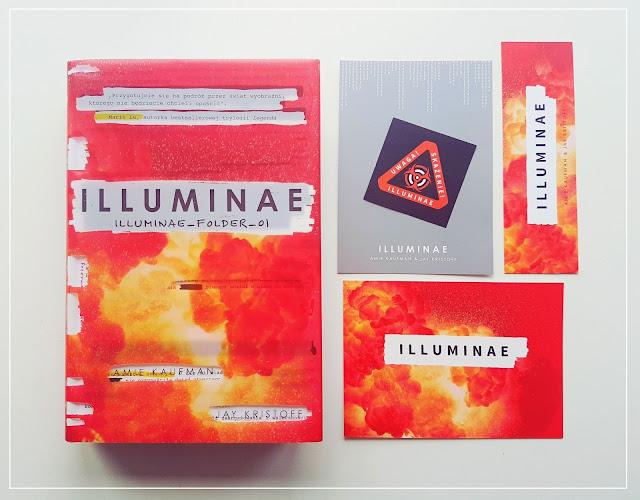 "Illuminae - Jay Kristoff, Amy Kaufman || Pierwsza część ""The Illuminae Files"""