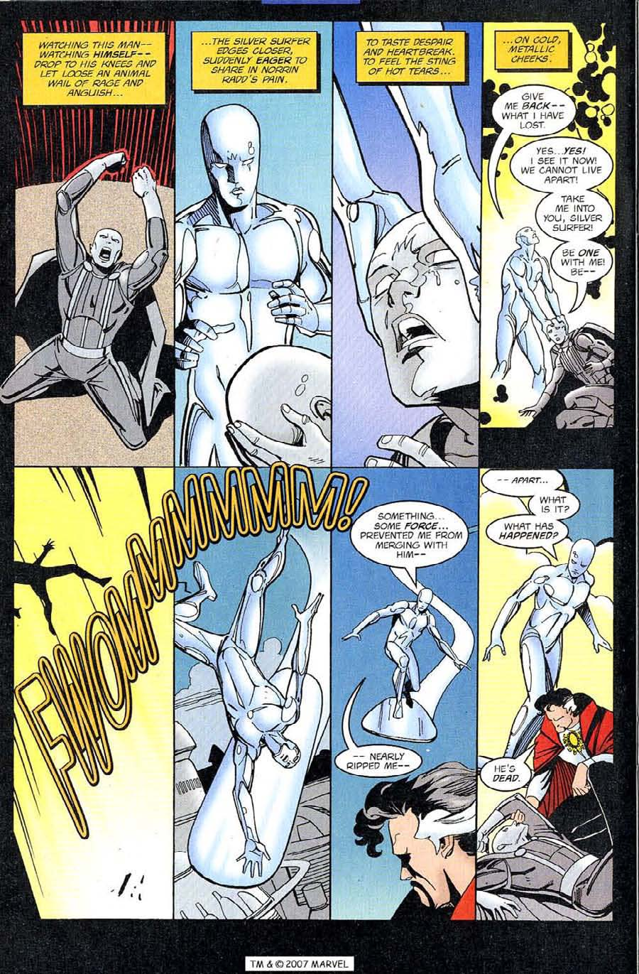Read online Silver Surfer (1987) comic -  Issue #126 - 22