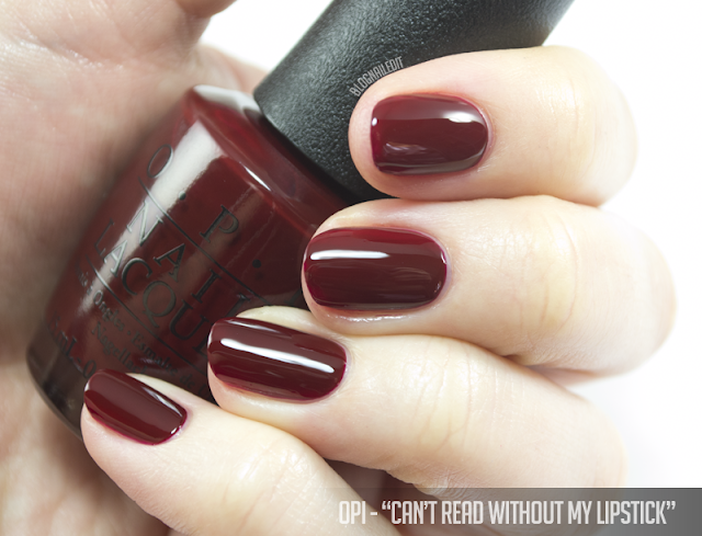 OPI - Can't Read Without My Lipstick