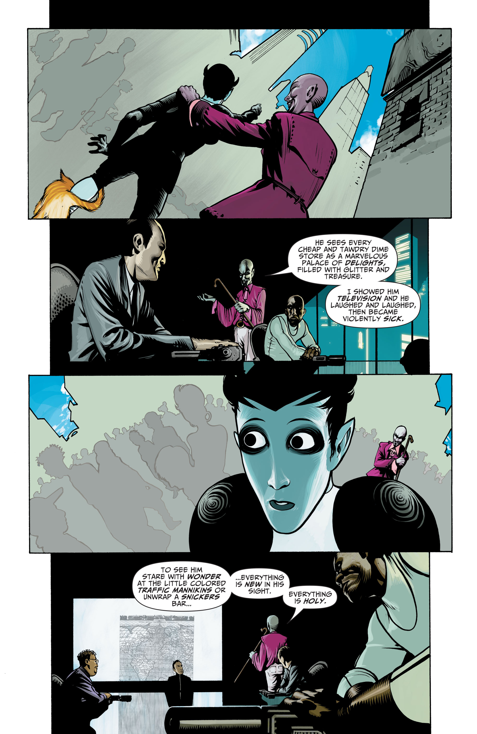Read online Seven Soldiers: Klarion the Witch Boy comic -  Issue #3 - 3