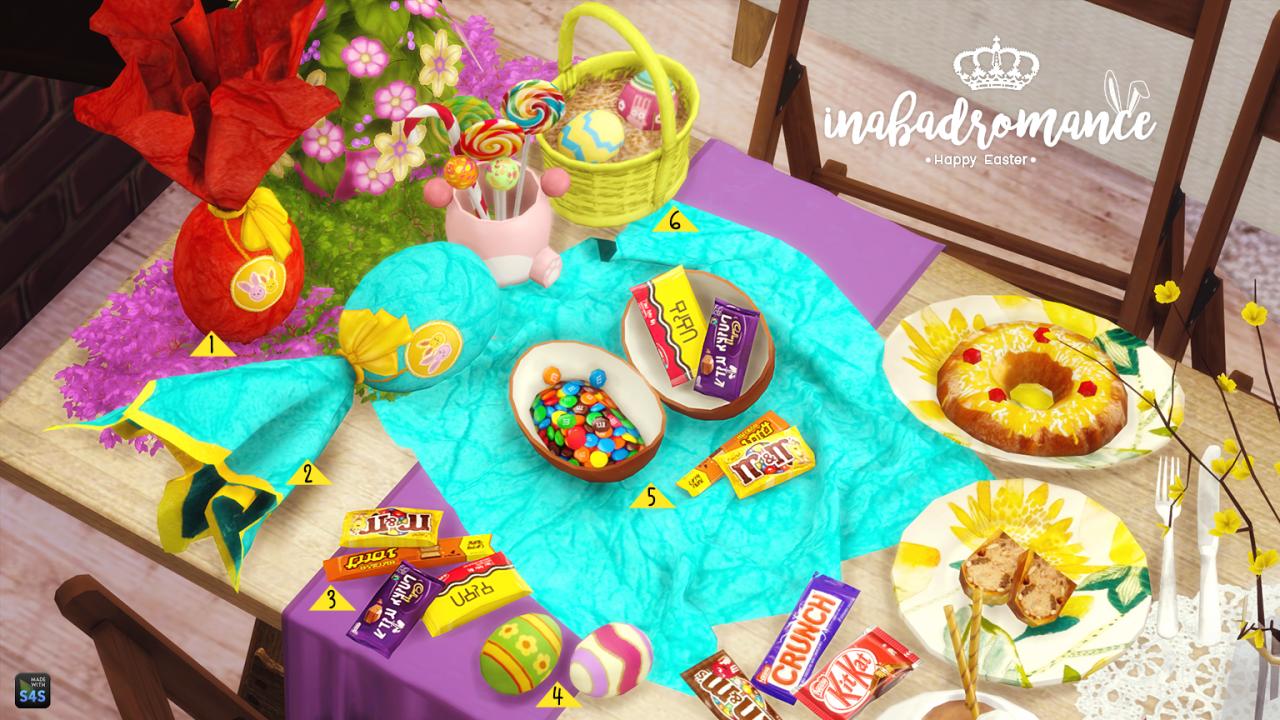 Sims  Birthday Party Cake