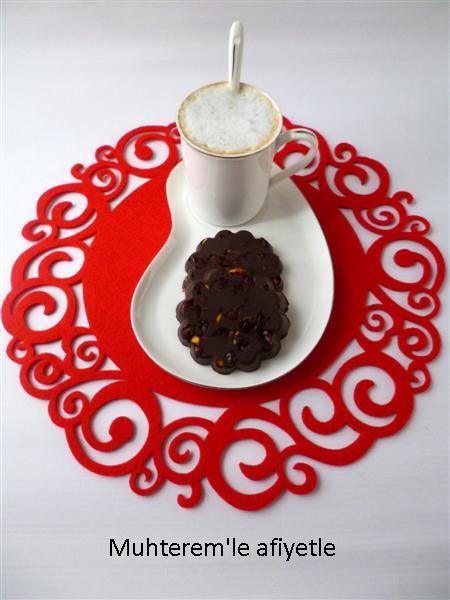 pomegranate chocolate