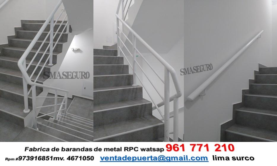 Barandas para escaleras for Escaleras 8 pasos