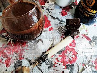 Домашен течен шоколад с кондензирано мляко и соев сос