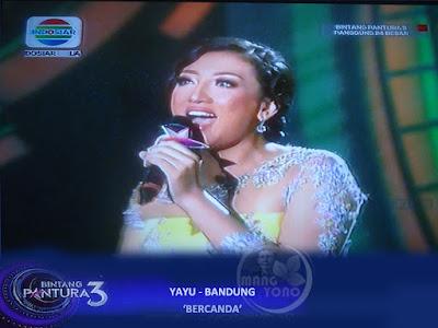 """Yayu Bandung lagu """"BERCANDA"""
