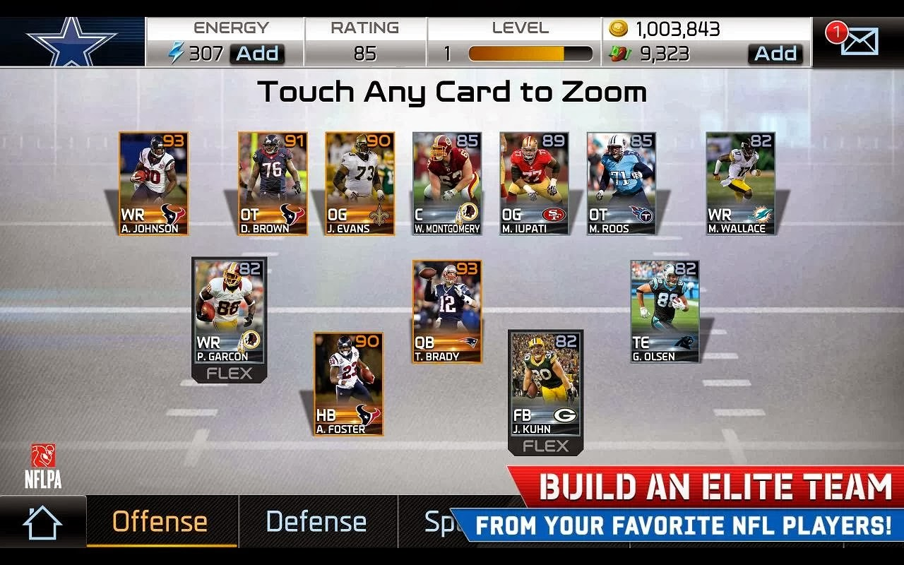 Madden NFL Mobile Cards