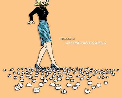 Tired Of Walking On Eggshells Around My Husband