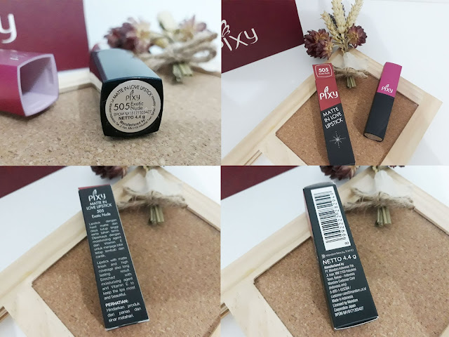 packaging lipstick pixy