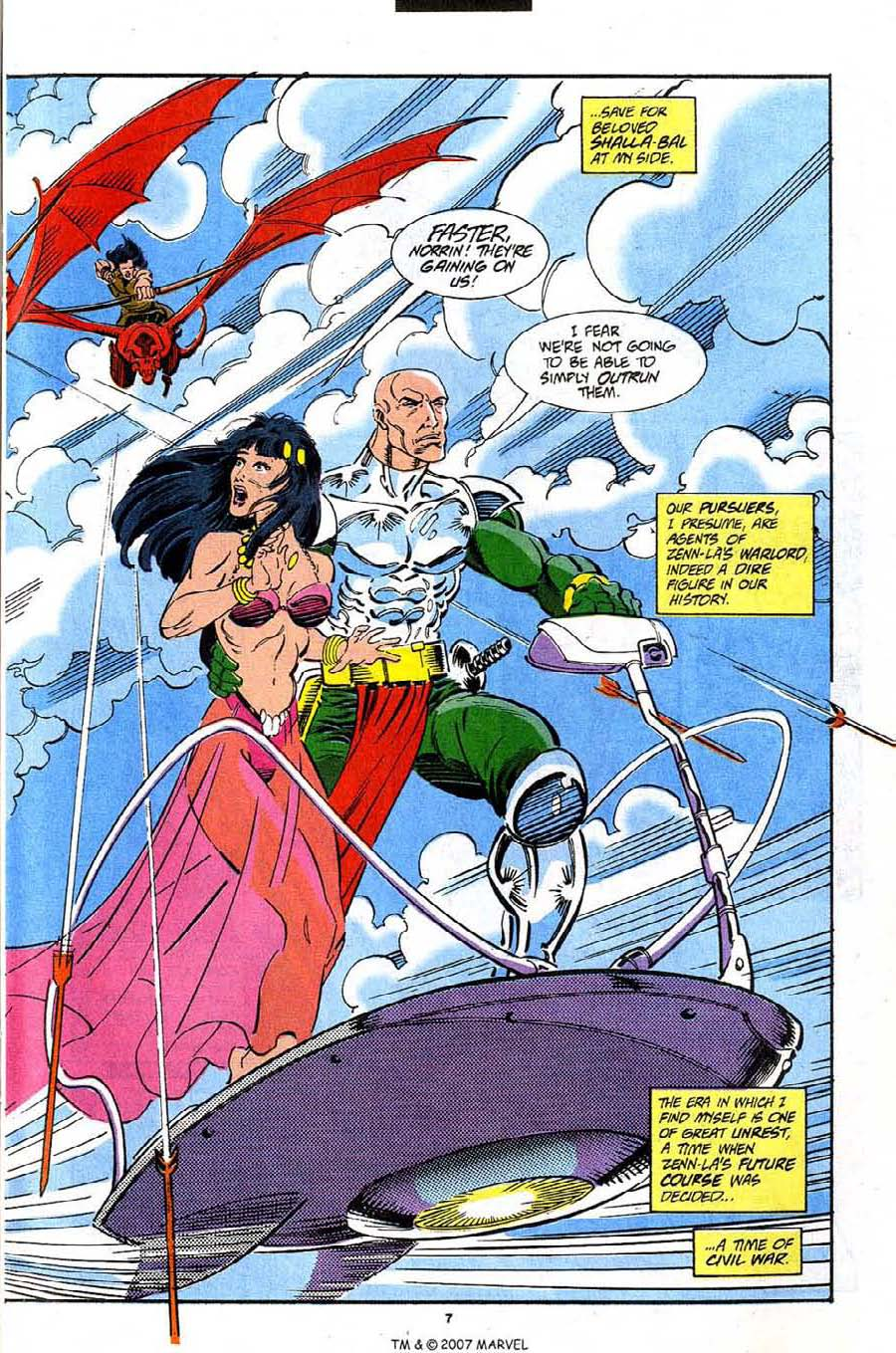 Read online Silver Surfer (1987) comic -  Issue #91 - 9