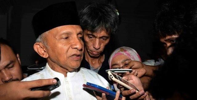 """""""Amien Rais Adalah Korban Penipuan Ratna, Polisi Lakukan Pemerkosaan Hukum"""""""