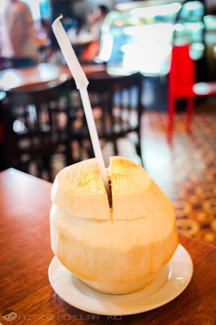 The overpriced Buko Juice of Abe Restaurant