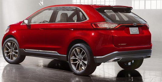 2016 Ford Edge Sport Crossover Release Date In American
