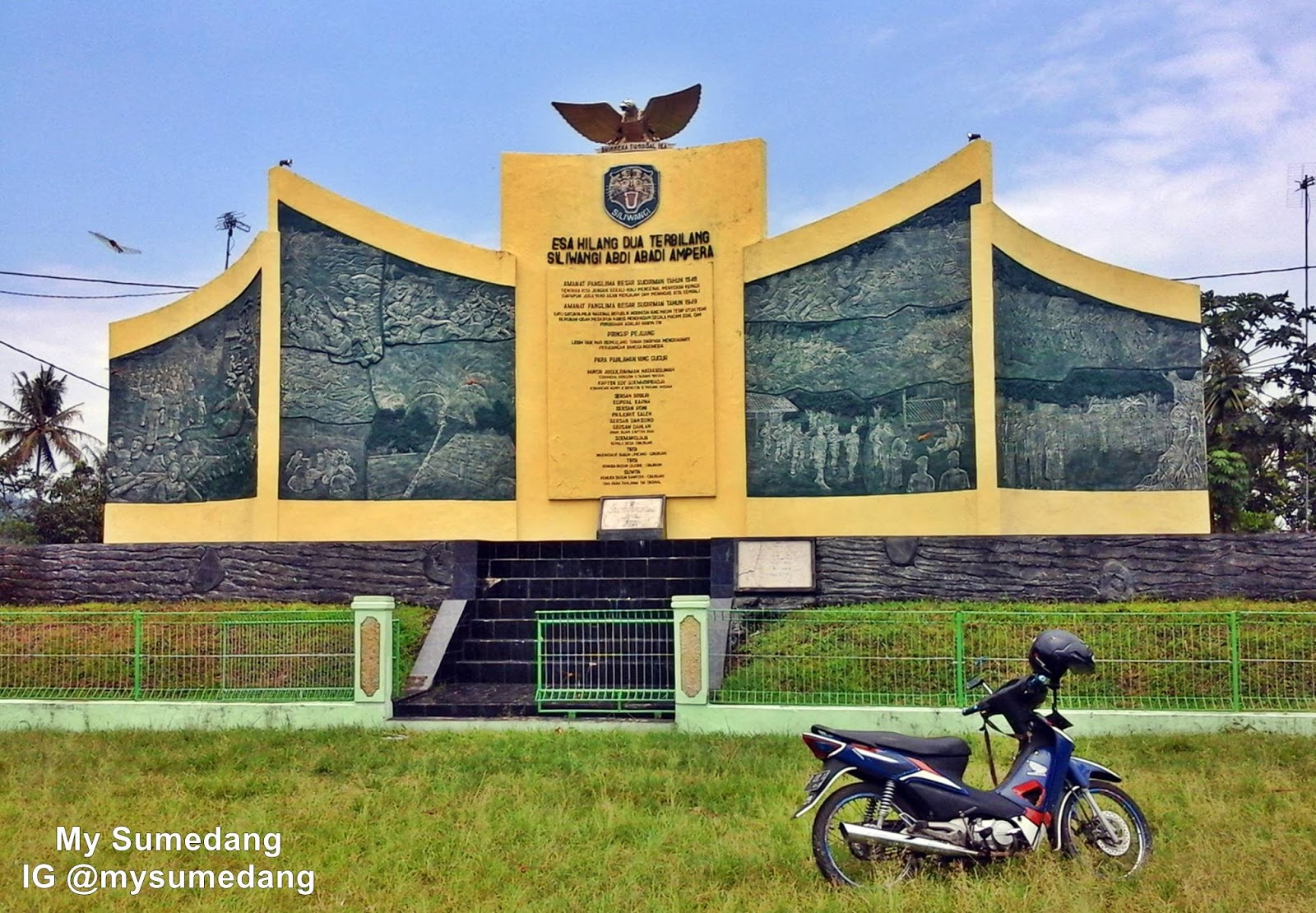 Monumen Long March Siliwangi di Darongdong Buahdua