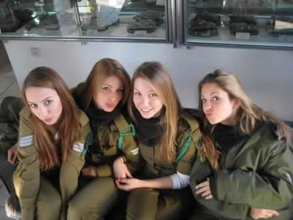 Top countries with most beautiful lady soldiers