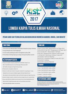 Lomba Karya Tulis Ilmiah Nasional - Kalijaga Innovation and Research Competition