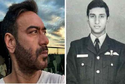 BhujThePrideOf India Ajay Devgn play IAF Commander Vijay Karnik of Indo-Pak war
