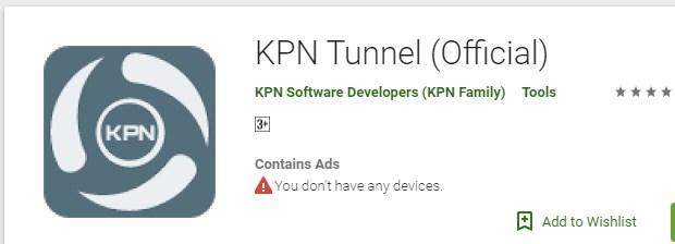 Cara Internetan Gratis Dengan KPN Tunnel Terbaru 2019