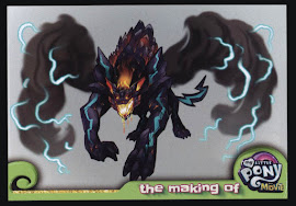 My Little Pony Storm King MLP the Movie Trading Card