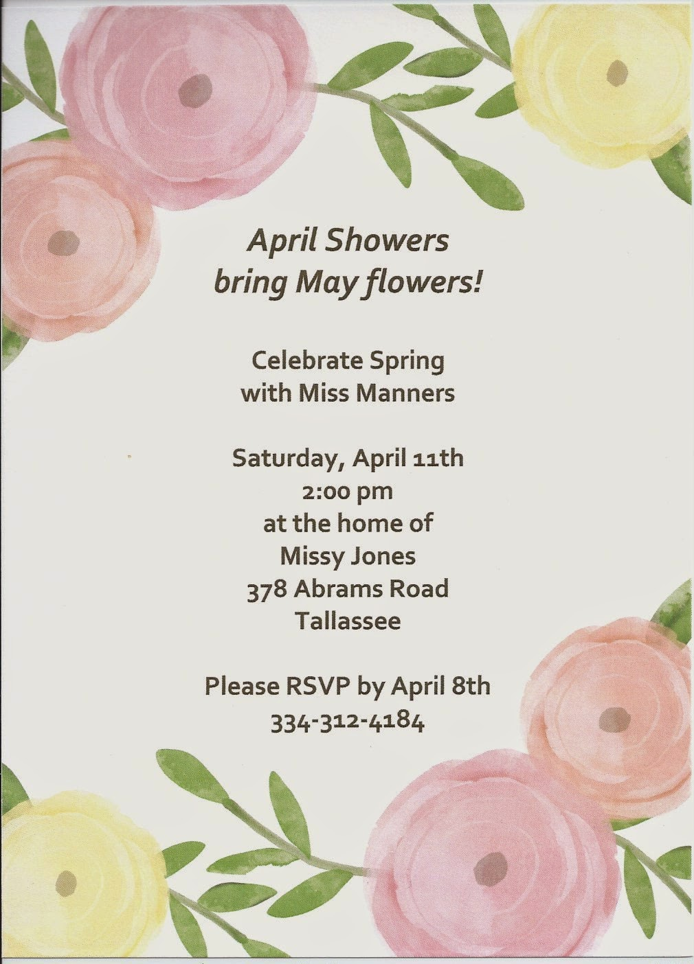 Our Neck Of The Woods: April showers bring May flowers