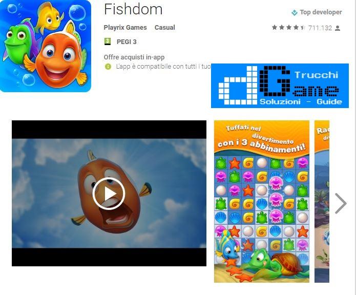 Trucchi  Fishdom Mod Apk Android v2.5.9