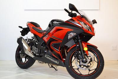 Kawasaki Ninja 400R pink edition