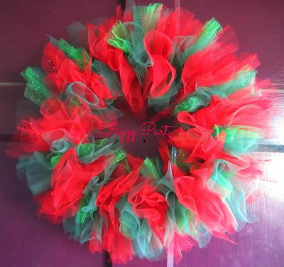 Tulle, Wreaths, tulle wreaths, etsy wreaths