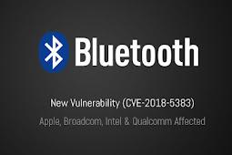 Peretasan Bluetooth Baru Mempengaruhi Jutaan Perangkat dari Vendor Utama