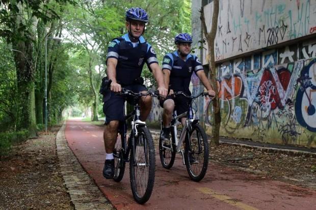 Guarda Municipal de Curitiba (PR) amplia o patrulhamento nas ciclovias da região central