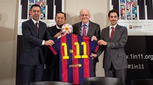 El Barcelona refuerza su vínculo con Unicef
