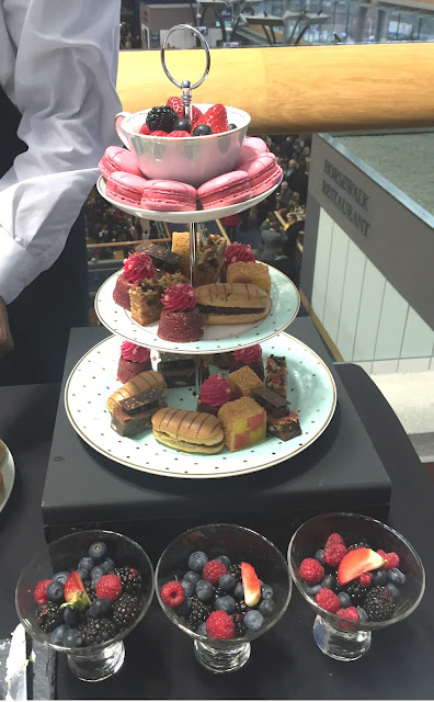 Afternoon tea at Panoramic Restaurant Ascot