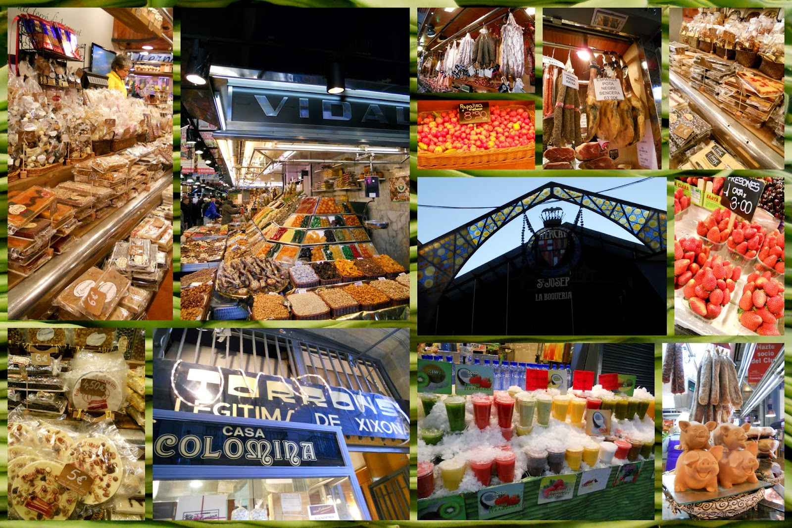 The Best Food Market in Barcelona Spain - La Boqueria