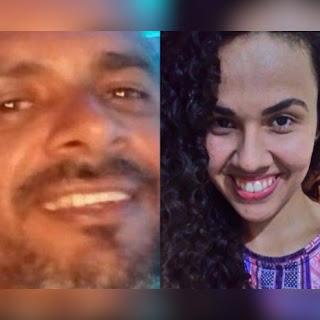 Identificados pai e filha que morreram esmagados por carreta em João Pessoa