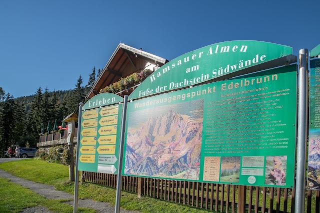 5-Hüttenweg und Jungfrauensteig  Wandern in Ramsau am Dachstein 02