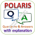 POLARIS Written Test: Aptitude, Reasoning, English; Questions and Answers with Explanations