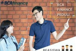 Beasiswa BCAfinance Peduli Mahasiswa 2018