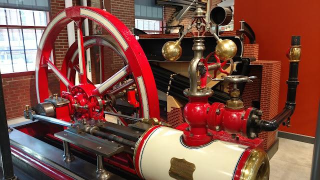 Паровий двигун. Національний музей Індустріальної Історії, Бетлехем, Пенсильванія (National Museum of Industrial History in Bethlehem, Pa)