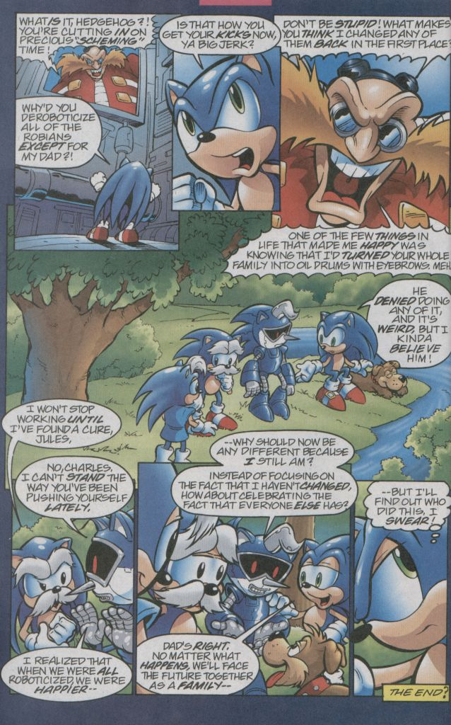 Read online Sonic The Hedgehog comic -  Issue #123 - 23