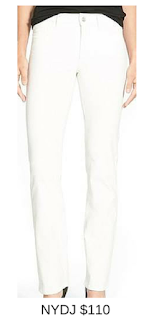 Sydney Fashion Hunter - She Wears The Pants - NYDJ White Women's Work Pants
