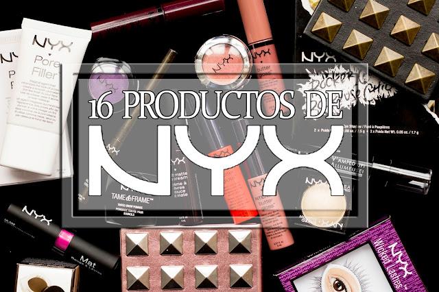 Mis 16 productos de NYX. I Merienda Blogger Madrid (II)